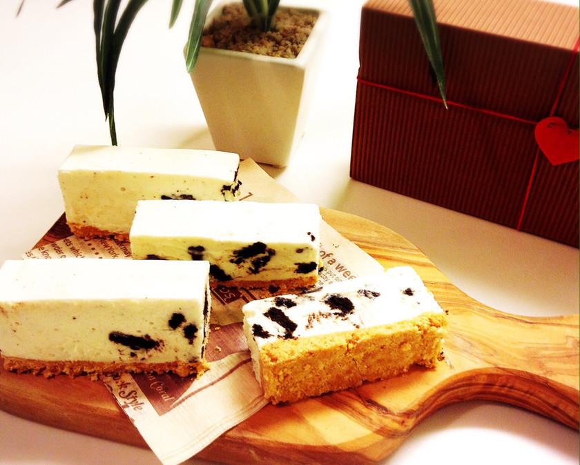 クッキーレアチーズケーキ★バレンタイン
