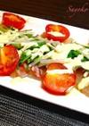 鯛のカルパッチョ〜ホワイトソース
