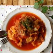 食べて痩せる!白滝のトマトソースパスタの写真