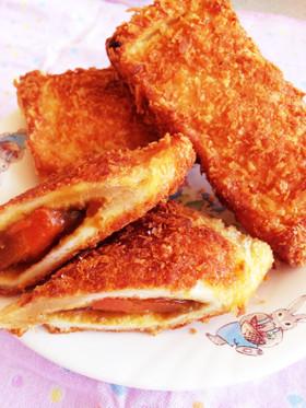 食パンでカレーパン!?本格派…✨