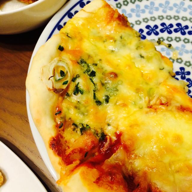 ネギ味噌ピザ