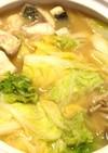 ボラの味噌生姜鍋