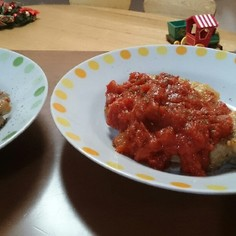 チキンのソテー☆トマトソース