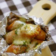 お弁当に5分☆彡デミ風ウィンナーチーズ焼