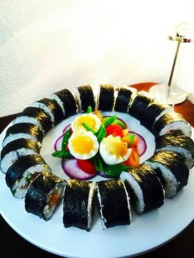 節分やお祝いに 巻き寿司♪