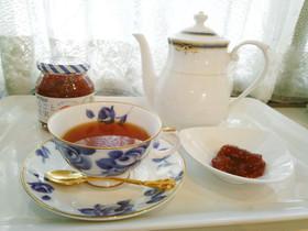 """紅茶 苺ジャムの""""ほのかな甘み""""で"""