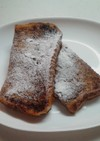 ココア風味のフレンチトースト