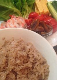 バルサミコ酢のオシャレ寿司飯