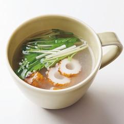 ちくわと塩麹のスープ