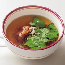 梅じゃこスープ