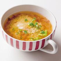 長いもとしょうがのスープ