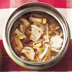 豆もやしの中華スープ