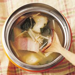 洋風みそスープ