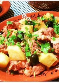 豚肉とじゃがいもの★ポルトガル風★