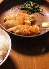 激うま鶏ムネ肉のてり焼きと大根の葉ソテー