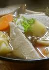 そば団子&野菜で温まる♪けんちん汁