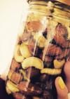 ローストナッツの蜂蜜漬け