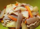 【糖質制限】【副菜】豚バラ大根の煮物