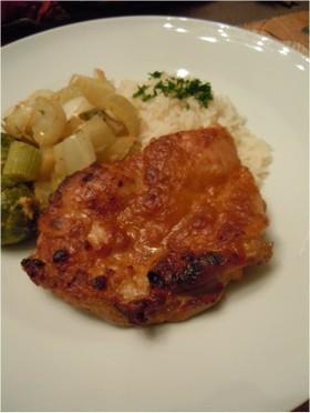 鶏肉オーブン焼き♫マスタードマリネ