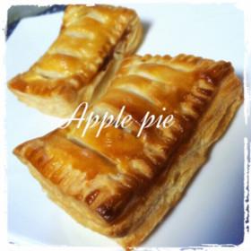 アップルパイ 簡単!〜カスタード入り〜