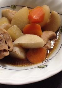 圧力鍋*里芋と大根の煮物