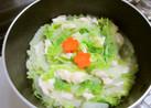 ヘルシー☆ささみと白菜のミルフィーユ鍋