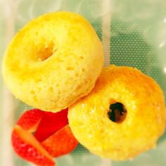 オートミール入り焼きドーナツ