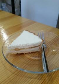 レアチーズケーキ(リンゴver.
