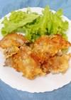 カリカリジューシーチーズチキンパン粉焼き