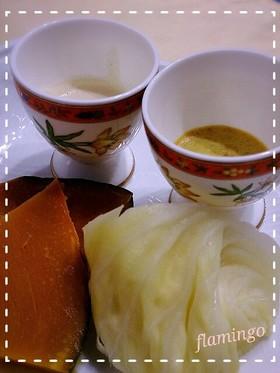ココナッツオイルドレッシング2種類