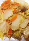 白菜のマヨカレー炒め