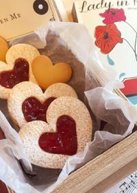 簡単型抜き♡サクサクジャムサンドクッキー