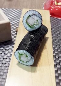 生ハムべったらの巻き寿司