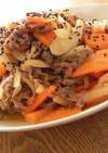 野菜たっぷりで簡単★牛肉みそ炒め
