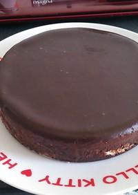 ボール&氷水要らず!焼かないチョコケーキ