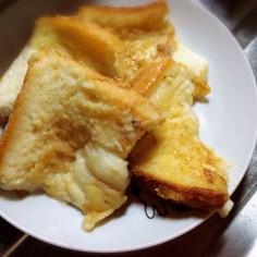 フレンチトーストみたいな練乳トースト
