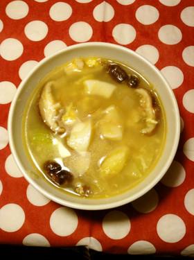 イカとネギの簡単ヘルシー中華風スープ