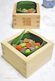 煎り大豆で~富九豆(ふくまめ)の彩り煮の写真
