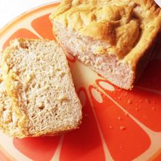 バナナとおからのふわもちパン