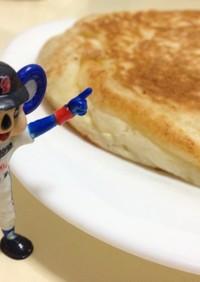 ホットケーキ【冷蔵庫空っぽ】