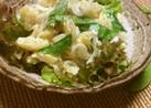 新玉葱と絹さやえんどうで春のポテトサラダ
