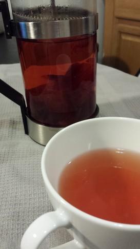 無駄なし!赤玉葱の皮でお茶