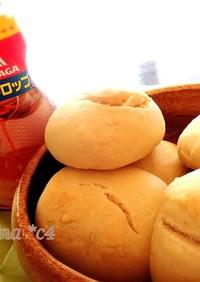メイプル風味のお手軽パン***強力粉なし