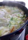 ストウブで博多の水炊き