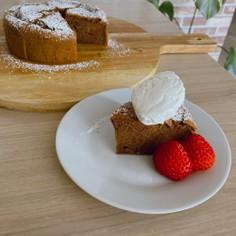 チョコとお豆腐のヘルシーケーキ♡