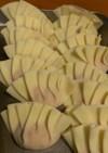 刻み生姜の餃子鍋