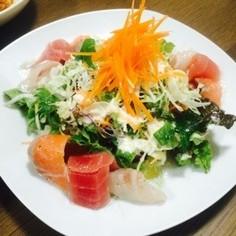簡単♥︎海鮮サラダ