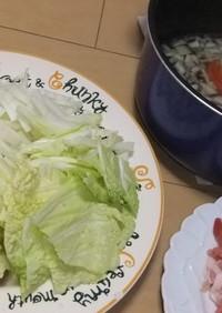 白菜ガーリック鍋