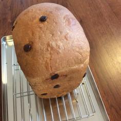HBでココナッツオイルのチョコ食パン