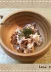 【離乳食中期~】豆腐に納豆しらすの小鉢